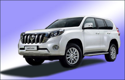 Toyota Land Cruiser Prado: новый дизайн
