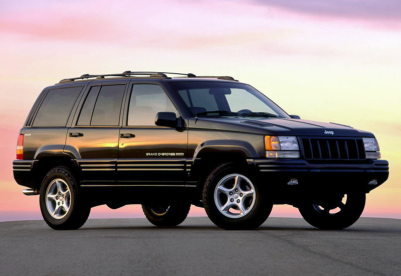 1998 Jeep Maj 9 Grand Cherokee limited